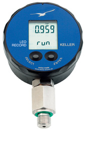 Leo Record digitale manometer met datalogger